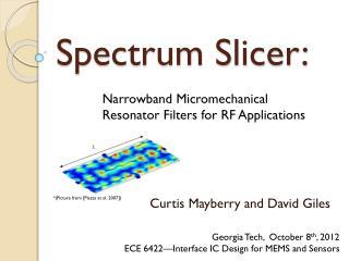 Spectrum Slicer: