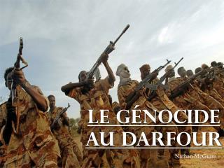 Le  génocide  au  Darfour
