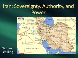 Iran: Sovereignty, Authority, and Power