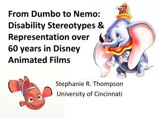 Stephanie R. Thompson University of Cincinnati