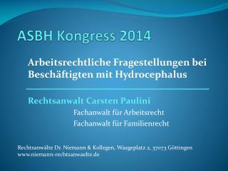 ASBH Kongress 2014