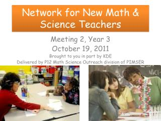 Network for New Math & Science Teachers