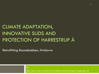 Climate  adaptation, innovative  SuDS  and  protection  of Harrestrup �