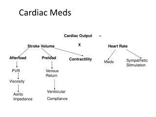 Cardiac Meds