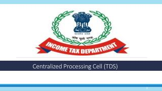 Centralized Processing Cell (TDS)