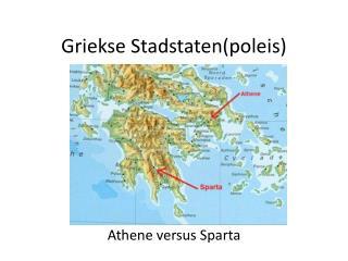 Griekse Stadstaten(poleis)