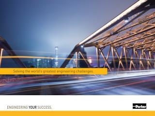 Parker se asociază cu clienţii  săi pentru  a le  spori productivitatea şi profitabilitatea .