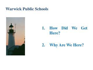 Warwick Public Schools