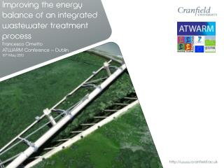 Improving the energy balance of an integrated wastewater treatment process