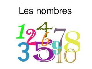 Les nombres