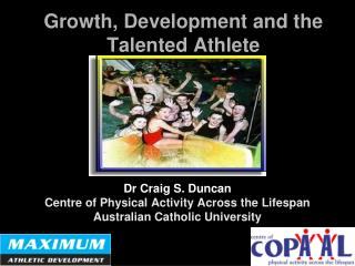 Growth, Development and the Talented Athlete