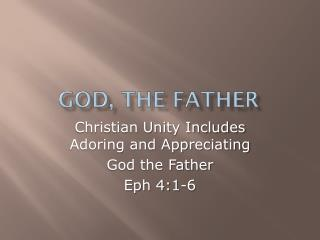 God, the Father