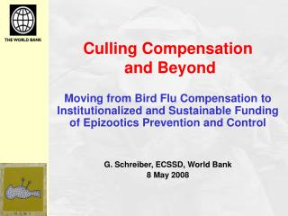 Culling Compensation  and Beyond