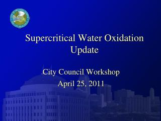 Supercritical Water Oxidation Update