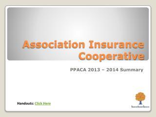 Association Insurance Cooperative