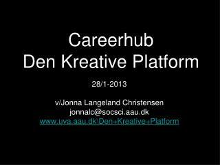 Careerhub Den Kreative Platform