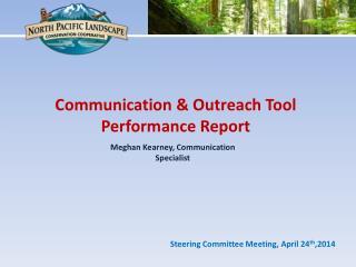 Meghan Kearney, Communication Specialist