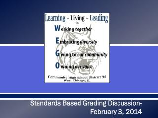What is Standards Based Grading? (SBG)