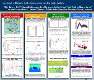 The Impact of Methane Clathrate Emissions on the Earth System