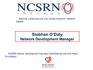 National Cardiovascular and Stroke Research Network  Ireland