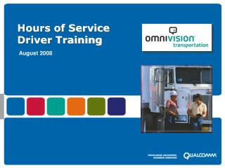 Hours of Service Driver Training