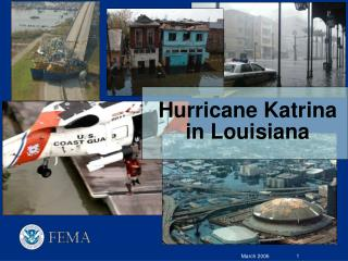 Hurricane Katrina in Louisiana