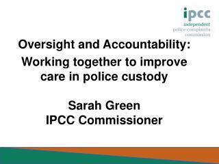 IPCC Role