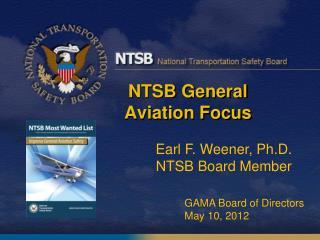 NTSB General Aviation Focus