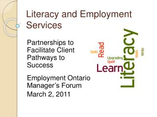 Literacy and Employment Services