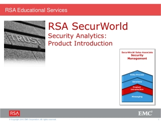 An Introduction to RSA enVision The Information Log Management Platform for Security and Compliance Success