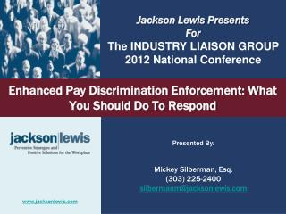 Enhanced Pay Discrimination Enforcement: What You Should Do To Respond
