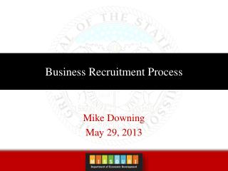 Business Recruitment Process