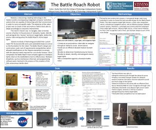 The Battle Roach Robot