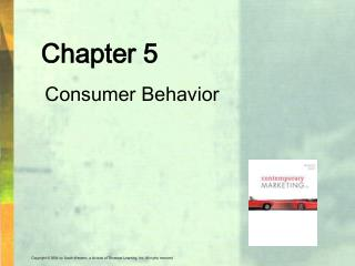 Chapter 5 Consumer Behavior