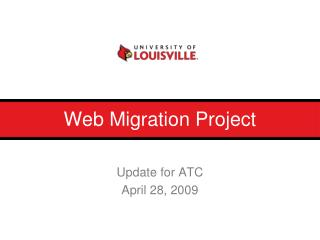 Web Migration Project