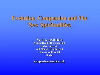 New Spiritual Focus