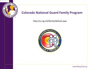 Colorado National Guard Family Program
