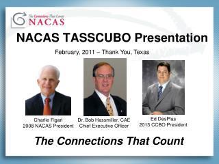 NACAS TASSCUBO Presentation
