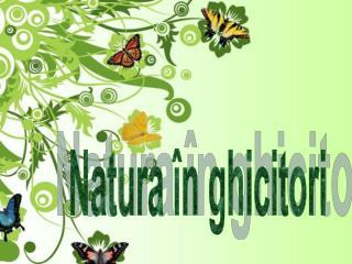 Natura �n ghicitori