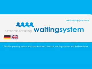 waitingsystem - flexible queueing system with appointments,