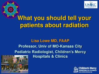What you should tell your patients about radiation