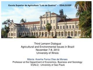 """Escola Superior de Agricultura """"Luiz de Queiroz"""" –  ESALQ/USP"""