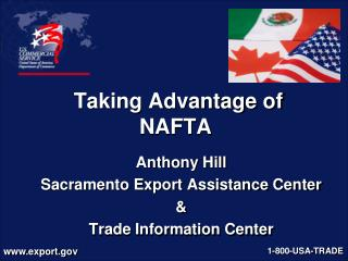 Taking Advantage of  NAFTA