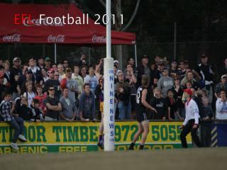 EFL  Football 2011