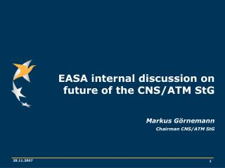 EASA internal discussion on future of the CNS/ATM StG
