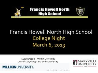 College Night March 6, 2013