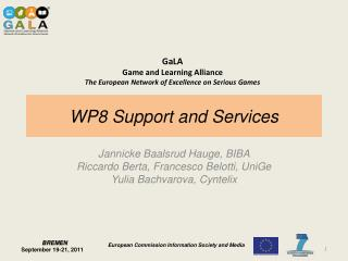 WP8 Support  and  Services