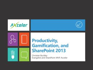 Productivity, Gamification, and SharePoint 2013