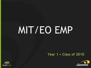 MIT/EO EMP