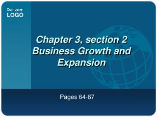 Chapter 3, section 2 Business Growth and Expansion